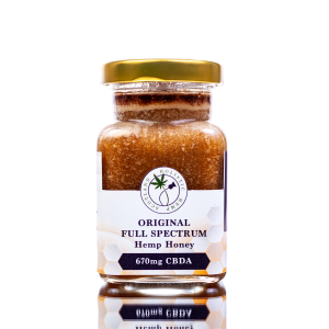 Buy Holistic Hemp Scotland Honey - Best Price - Front