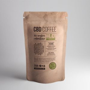 Buy CBD Infused Coffee Fine Ground - Decaf - UK