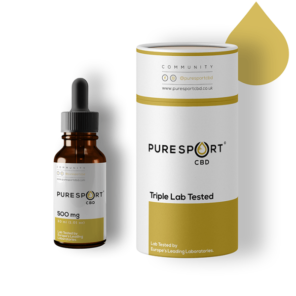 Sport Plus CBD - Oil Drops 500mg